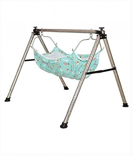 ghodiya indian style semi   folding stainless steel ghodiyu  baby cradle  with hammock ghodiya indian style semi   folding stainless steel ghodiyu  baby      rh   elala in