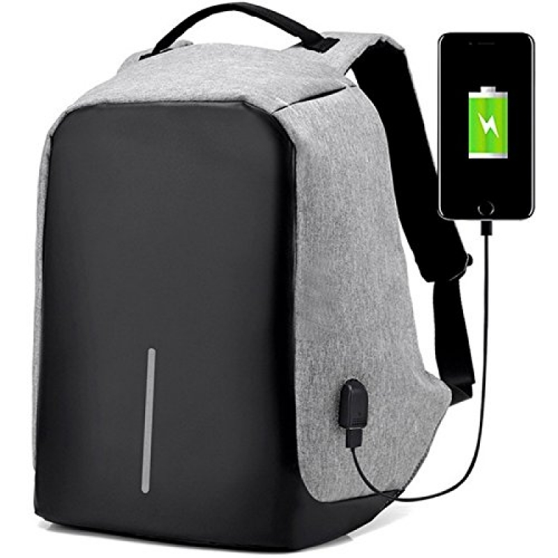 Anti Theft Backpack Water Resistant Travel Backpack Suitable For