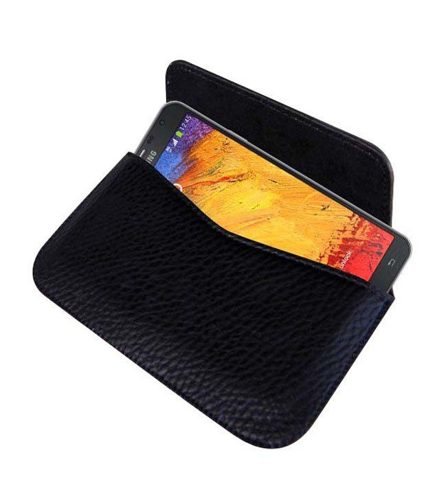 sale retailer 394f9 58630 Horizontal Leather Carry Case For Samsung Galaxy Note 3 Neo N7500 ...