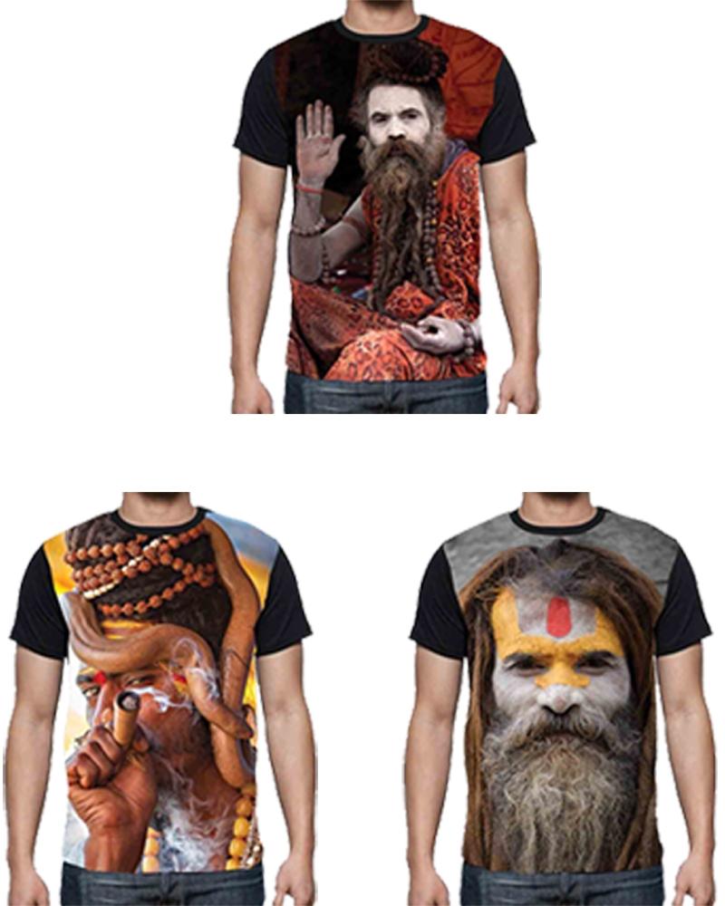 Exclusive Digital Printing Agori Hd T Shirt Combo Of 3 | Elala