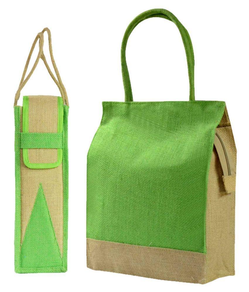 7d26faea5 Jute Lunch Bag