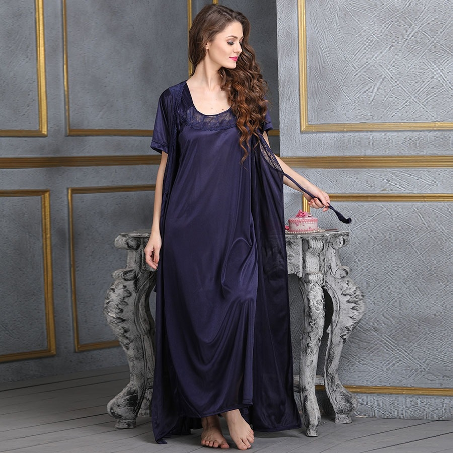 be6265e69a2 Satin Nighty   Robe. Loading zoom. undefined