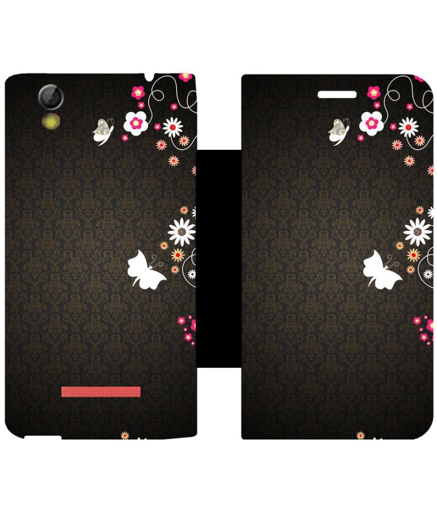 release date: 33a6e 850ff Gionee Pioneer P5l Flip Cover By Skintice - Multi | Elala