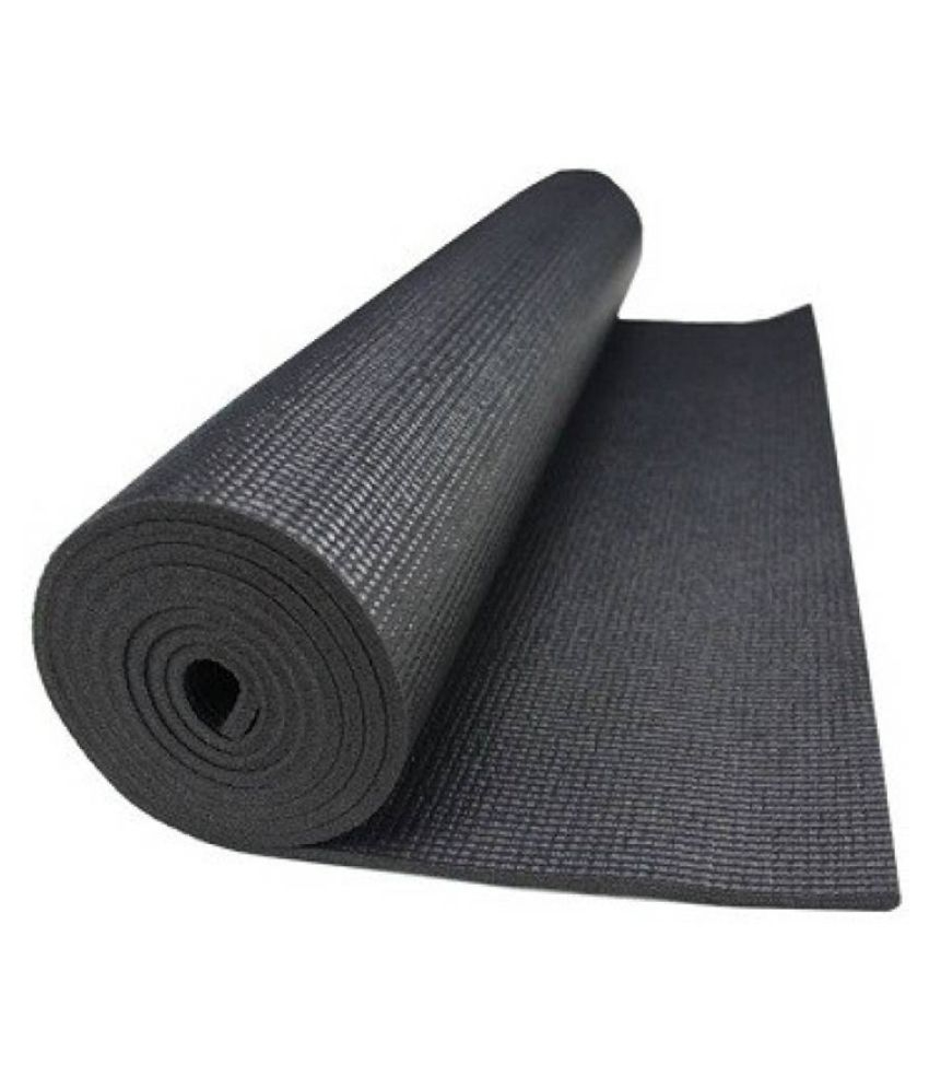 Yoga Mat Black 4 Mm Extra Long 78093e6666462