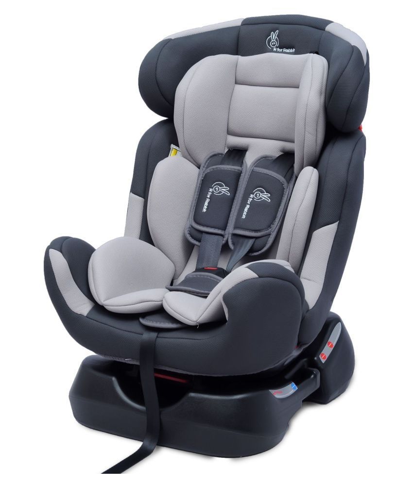 Grand Grey Convertible Baby Car Seat For 0 7 Years Age Elala