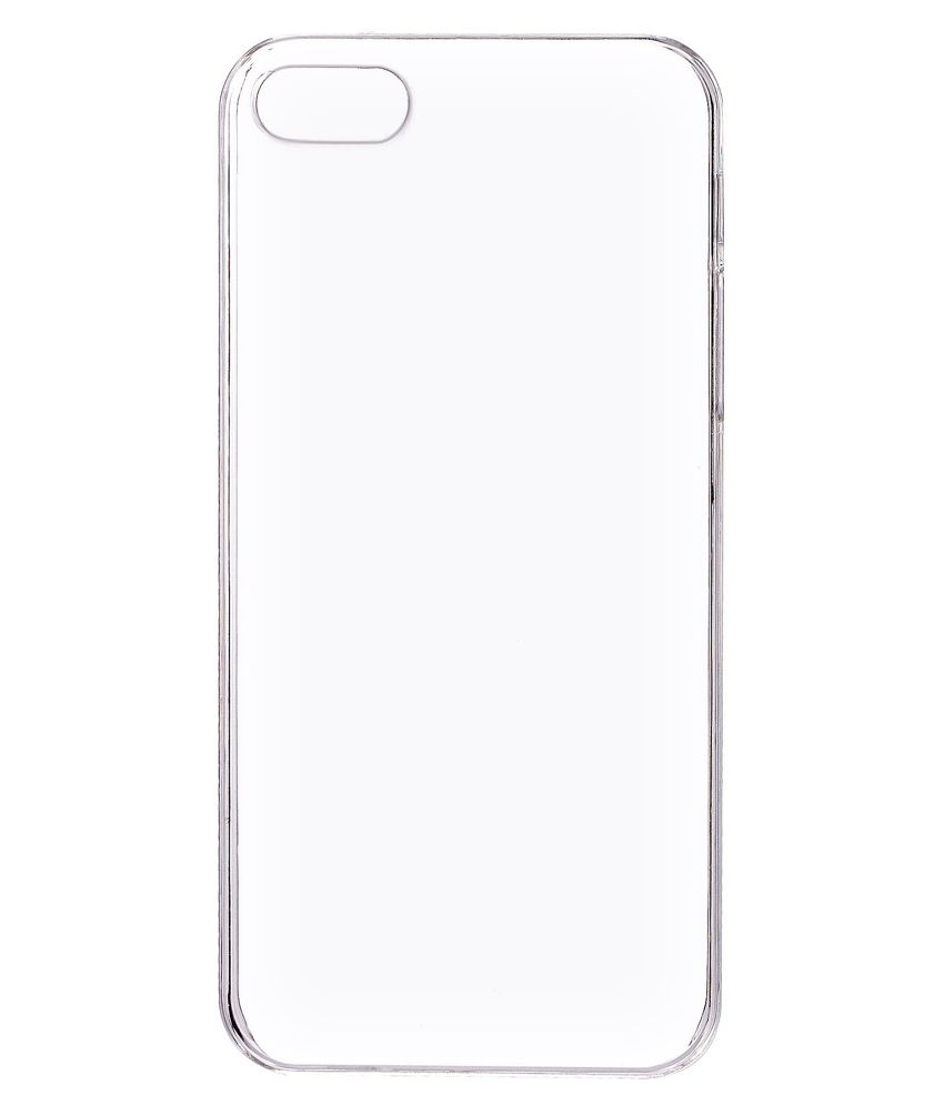 reputable site dfefc 85064 Plain Back Cover For Apple Iphone 5s - Transparent | Elala