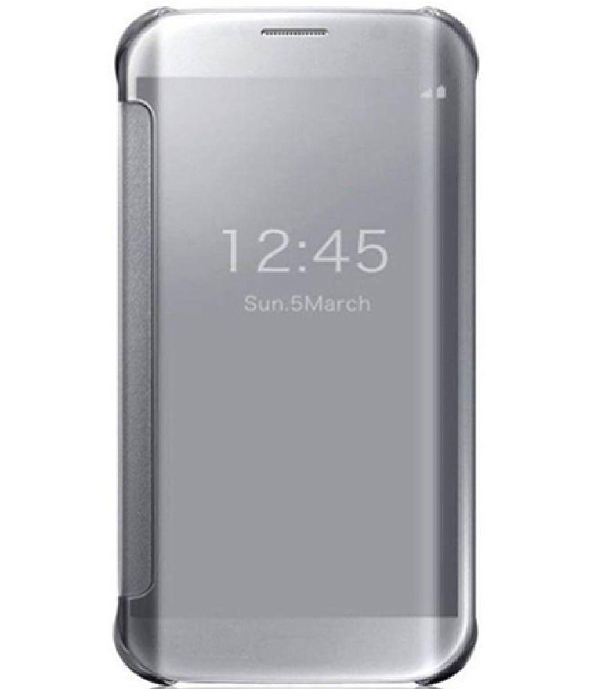 promo code 2ec02 654ee Samsung Galaxy A9 Pro Flip Cover By Nxg4u - Silver   Elala
