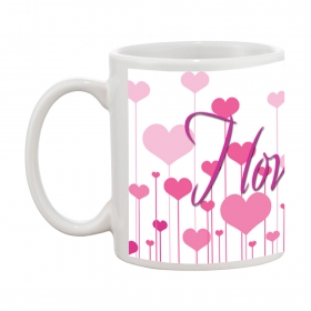 I Love You D-1 Gift Coffee Mug