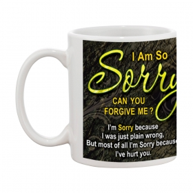 I Am So Sorry Gift Coffee Mug