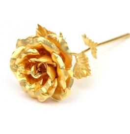 24kt Gold Foil Rose 25cm