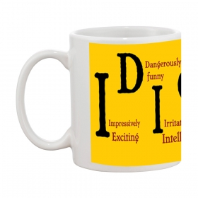 Idiot Meaning Gift Coffee Mug