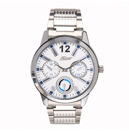 Tueor Silver Wrist Watches For Men 04