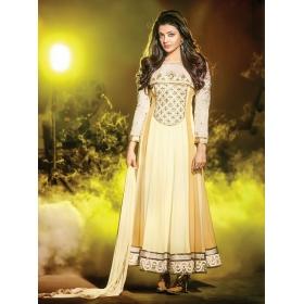 Kajal Agarwal Designer Semi Stitched Salwar Suit