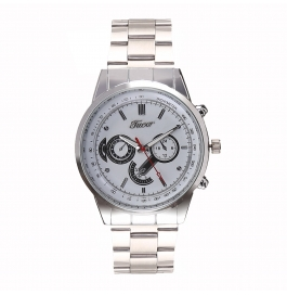 Tueor Silver Wrist Watches For Men 08