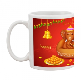 Happy Diwali Ganesha Gift Coffee Mug