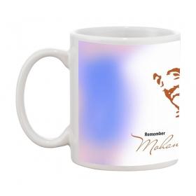 Mohandas Gandhi Gift Coffee Mug