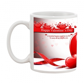 Happy Valentine's Day D-7 Gift Coffee Mug