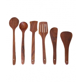 Desi Karigar Wooden Cutlery Set Of 6