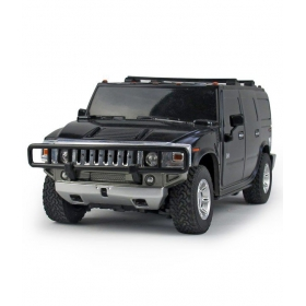 Black Remote Controlled Hummer H2 Suv Toy Car
