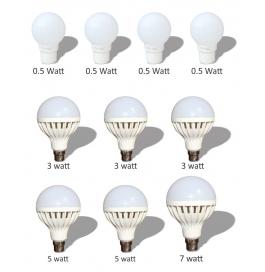 10 Led Bulb Combo