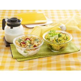 Set Of 2 Mixing Bowls 0.5 L - Easy Grip