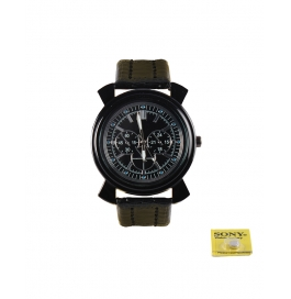 Rise N Shine Black Dial New Generation Men's Analouge Watch