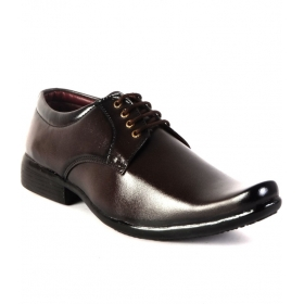 Mens Shoes Party Wear  (brown)
