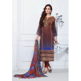 Pashmina Winter Wear Salwar Kameez-1007