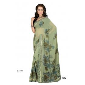 D No 1012 Tan - Tansen Series - Office / Daily Wear Saree