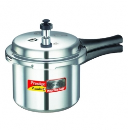 Prestige Popular Plus Induction Base Aluminium Pressure Cooker : 3 Liter