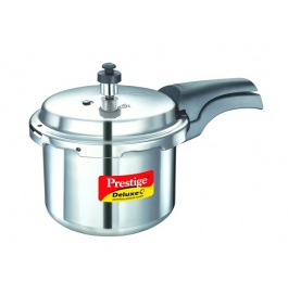 Prestige Deluxe Plus Induction Base Aluminium Pressure Cooker : 3 Litre