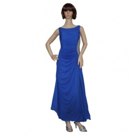 Sarva Partywear Gown Blue Imported Net