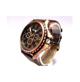New Style Brown Dial Analogue Watch For Mens