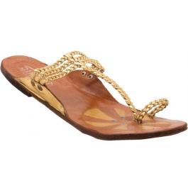 Shopoj Women Gold Flats