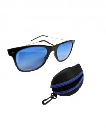 Combo Of Aviator Sunglasses With Imported Zipper Hard Case Protector Box
