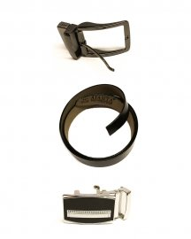 Combo Of Buckle &  Leather Belt