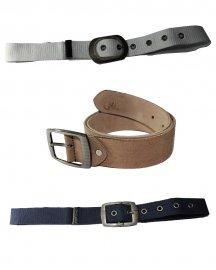 Men Formal  Genuine Leather Belt- Pack Of  3