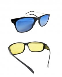 Wayfarer Sunglasses  Pack Of -2