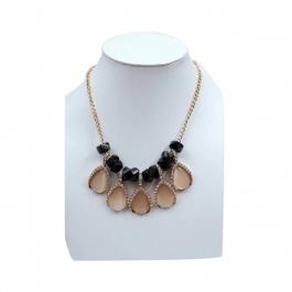 Durga Fashion Black & Brown Color Necklace