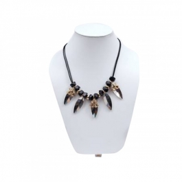 Durga Fashion Black Color Necklace