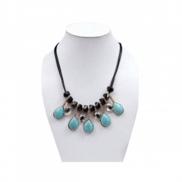 Durga Fashion Blue Color Necklace