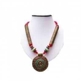 Durga Fashion Alloy Elegant Necklace
