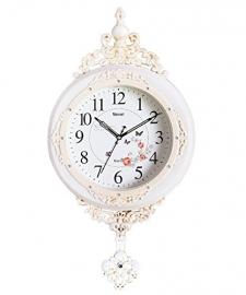 Vintage Pendulam Wall Clock Sq-2955b(white)