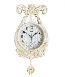 Vintage Pendulam Wall Clock Sq-2924b(white)