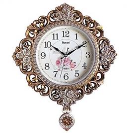 Vintage Pendulam Wall Clock Sq-2923a(golden)