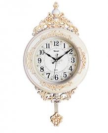 Vintage Pendulam Wall Clock Sq-2922b(white)