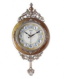 Vintage Pendulam Wall Clock Sq-2922a(golden)