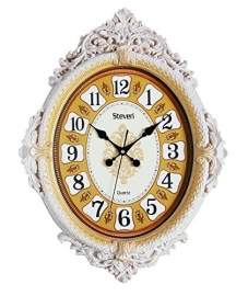 Vintage Wall Clock Sq-2002a(ivory)
