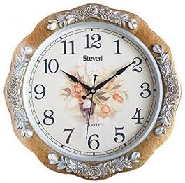 Vintage Wall Clock Sq-1619c(golden)