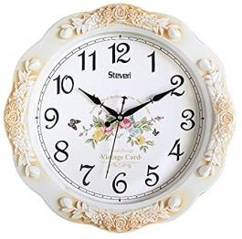 Vintage Wall Clock Sq-1619a(ivory)